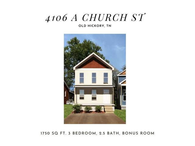 4106A Church Street, Old Hickory, TN 37138 (MLS #RTC2251210) :: Nashville on the Move