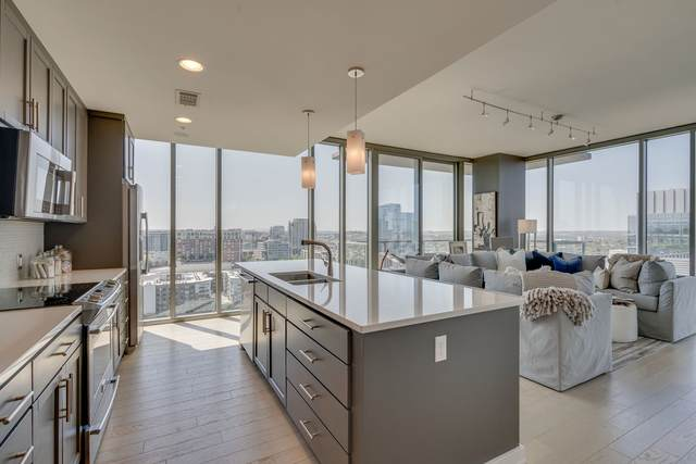 1212 Laurel St #2115, Nashville, TN 37203 (MLS #RTC2252127) :: John Jones Real Estate LLC