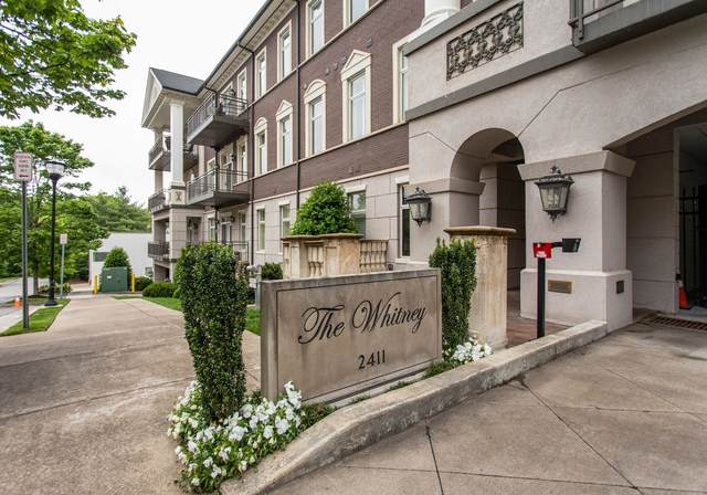 2411 Crestmoor Rd #105, Nashville, TN 37215 (MLS #RTC2253205) :: The Milam Group at Fridrich & Clark Realty