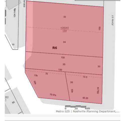 0 John St, Nashville, TN 37210 (MLS #RTC2259513) :: Trevor W. Mitchell Real Estate