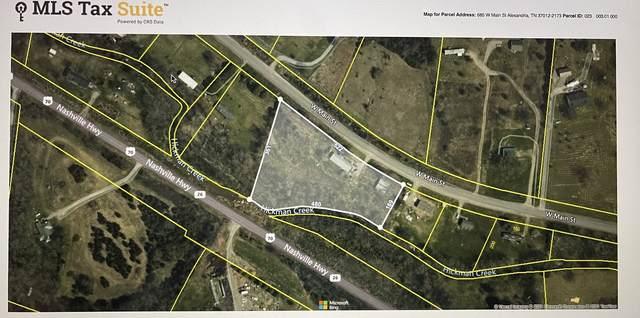 685 W Main St, Alexandria, TN 37012 (MLS #RTC2259964) :: The Godfrey Group, LLC