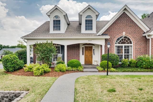 407 Village Hall Pl, Nashville, TN 37215 (MLS #RTC2260103) :: Berkshire Hathaway HomeServices Woodmont Realty