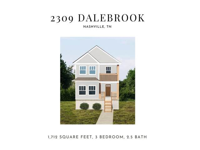 2309 Dalebrook Ct, Nashville, TN 37206 (MLS #RTC2265737) :: Your Perfect Property Team powered by Clarksville.com Realty