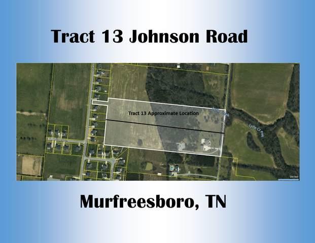 13 Johnson Rd, Murfreesboro, TN 37127 (MLS #RTC2269919) :: John Jones Real Estate LLC