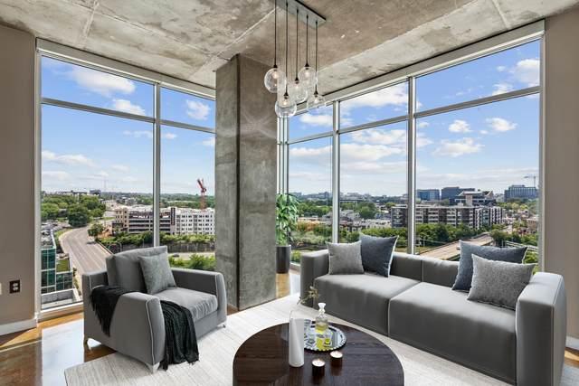 600 12th Ave S #1400, Nashville, TN 37203 (MLS #RTC2270328) :: Village Real Estate