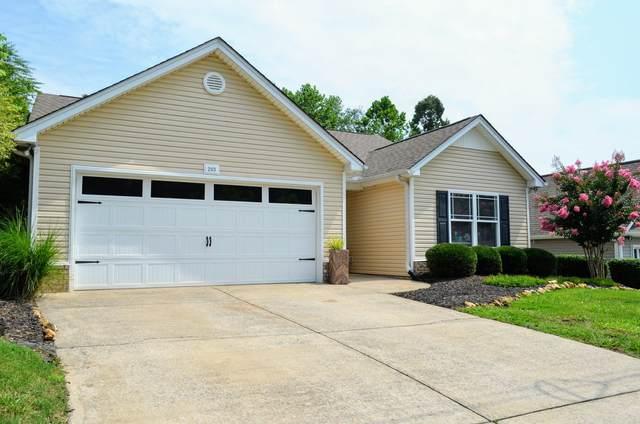 203 E Quail Hollow Way, Dickson, TN 37055 (MLS #RTC2271593) :: Village Real Estate