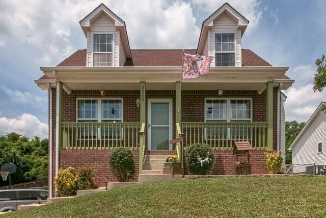 2260 Kim Dr, Clarksville, TN 37043 (MLS #RTC2274295) :: Village Real Estate