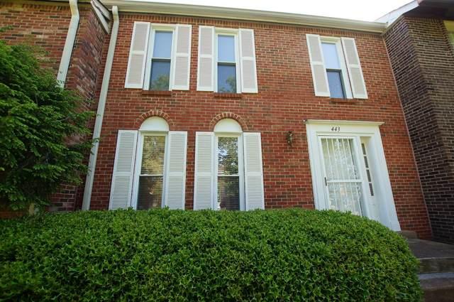 443 Huntington Ridge Dr, Nashville, TN 37211 (MLS #RTC2275443) :: DeSelms Real Estate