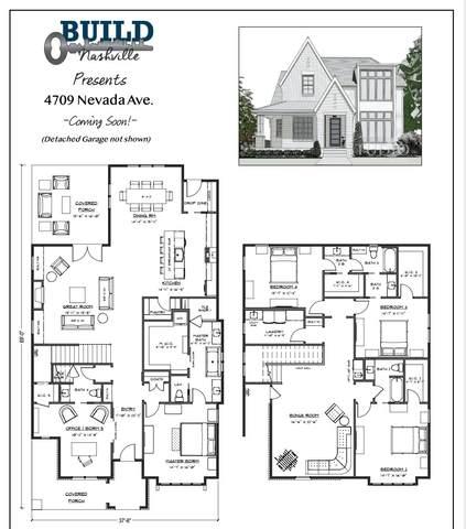 4709 Nevada Ave, Nashville, TN 37209 (MLS #RTC2275967) :: DeSelms Real Estate