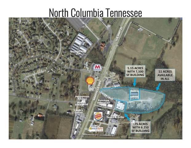 2509 Cayer Ln, Columbia, TN 38401 (MLS #RTC2276341) :: Kimberly Harris Homes