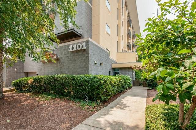 1101 18th Ave S #606, Nashville, TN 37212 (MLS #RTC2278077) :: Berkshire Hathaway HomeServices Woodmont Realty
