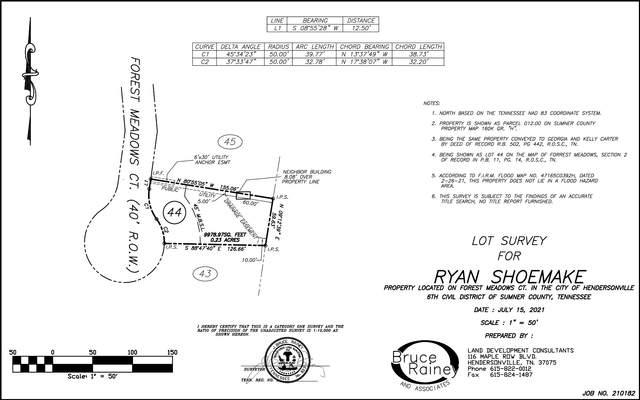 109 Forest Meadows Ct N, Hendersonville, TN 37075 (MLS #RTC2278852) :: John Jones Real Estate LLC