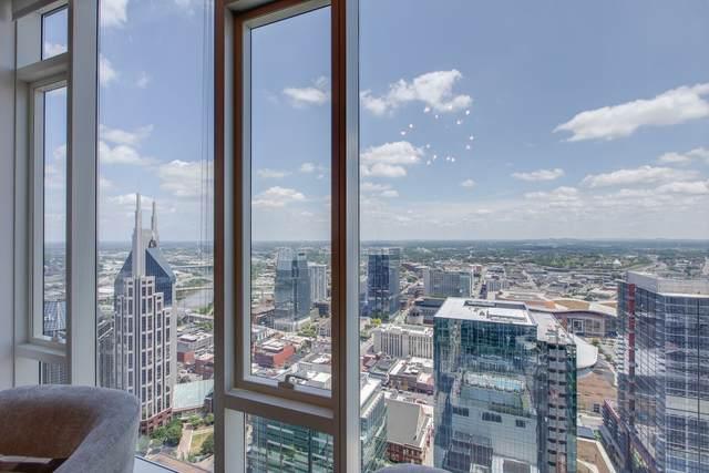 515 Church St #3806, Nashville, TN 37219 (MLS #RTC2292134) :: John Jones Real Estate LLC