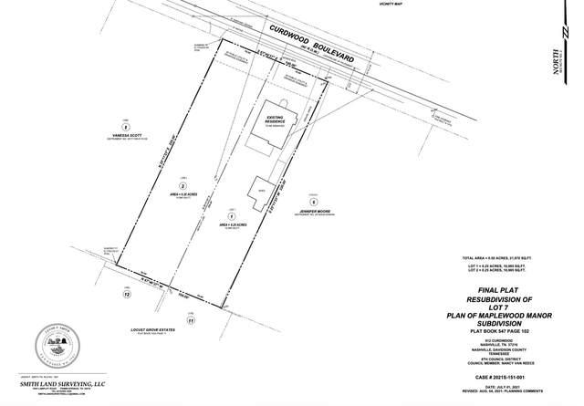 912 Curdwood Blvd, Nashville, TN 37216 (MLS #RTC2292329) :: Cory Real Estate Services