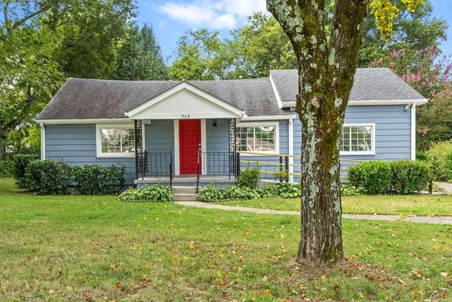 968 Peachers Mill Rd, Clarksville, TN 37042 (MLS #RTC2292383) :: The Kelton Group
