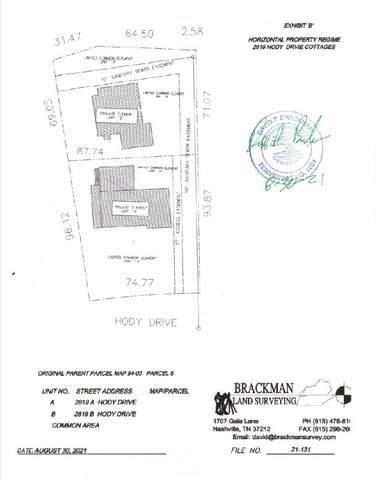 2819B Hody Dr, Nashville, TN 37206 (MLS #RTC2294008) :: RE/MAX Homes and Estates, Lipman Group