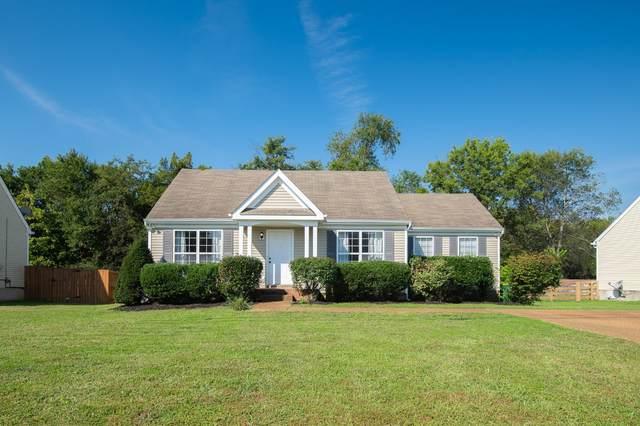 2849 Cochran Trace Dr, Spring Hill, TN 37174 (MLS #RTC2296064) :: John Jones Real Estate LLC