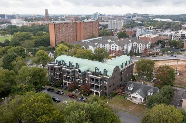 2905 Parthenon Ave #108, Nashville, TN 37203 (MLS #RTC2298225) :: John Jones Real Estate LLC