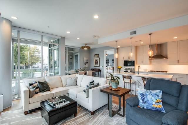 20 Rutledge St #110, Nashville, TN 37210 (MLS #RTC2298619) :: John Jones Real Estate LLC