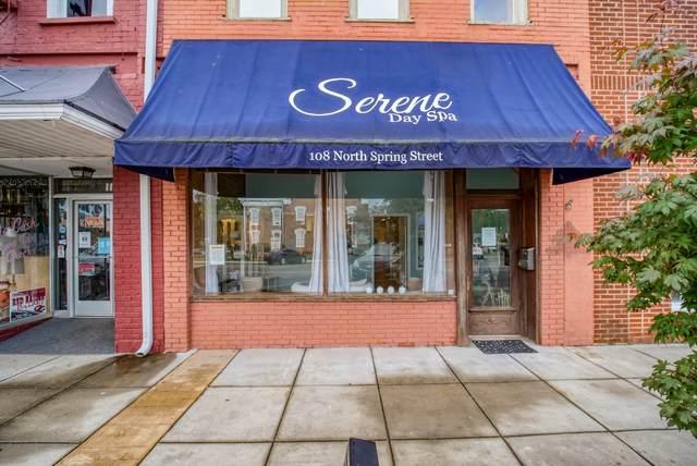 108 N Spring St, Manchester, TN 37355 (MLS #RTC2298676) :: John Jones Real Estate LLC