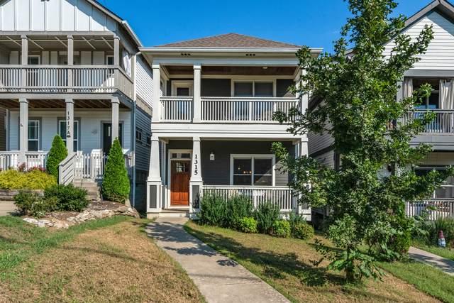 1315 Stainback Ave, Nashville, TN 37207 (MLS #RTC2299550) :: John Jones Real Estate LLC