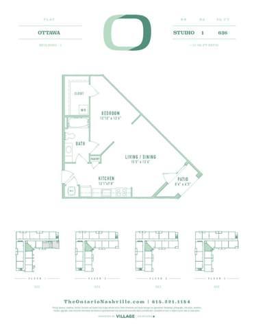 1540 Lebanon Pike #211, Nashville, TN 37210 (MLS #RTC2301167) :: Ashley Claire Real Estate - Benchmark Realty