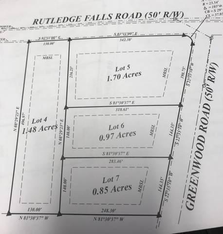 0 Greenwood Road, Tullahoma, TN 37388 (MLS #RTC2303722) :: Candice M. Van Bibber | RE/MAX Fine Homes