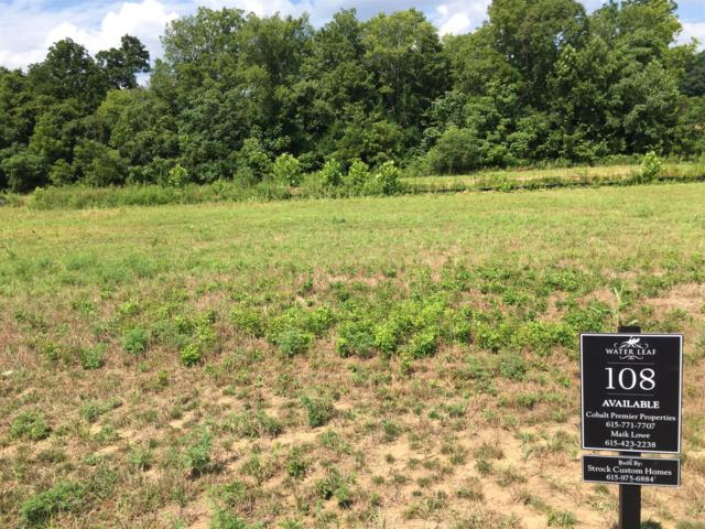 5034 Water Leaf Dr (Lot 108), Franklin, TN 37064 (MLS #1848312) :: Nashville on the Move