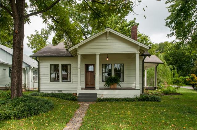 215 Fall St, Nashville, TN 37206 (MLS #1854262) :: The Milam Group at Fridrich & Clark Realty