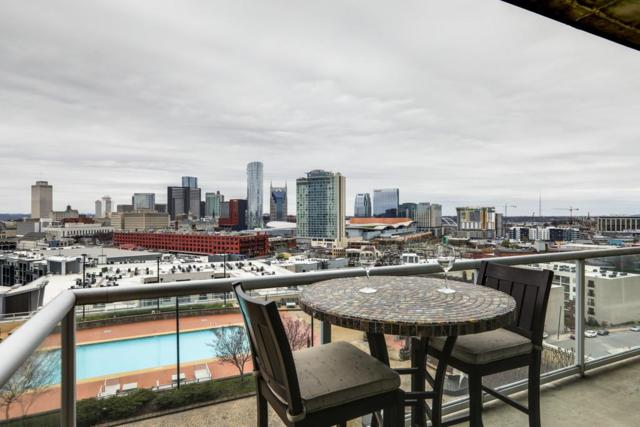 600 12Th Ave S Apt 1211 #1211, Nashville, TN 37203 (MLS #1914921) :: Living TN