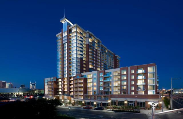 600 12th Ave S Apt 822 #822, Nashville, TN 37203 (MLS #1920225) :: CityLiving Group