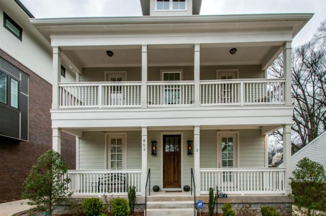 802 Montrose Ave, Nashville, TN 37204 (MLS #1922132) :: Ashley Claire Real Estate - Benchmark Realty