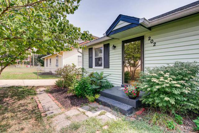 202 Rains Ave, Nashville, TN 37203 (MLS #1962237) :: The Kelton Group