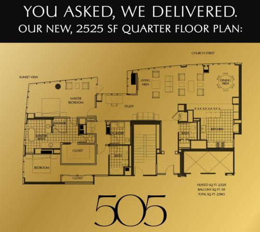 515 Church Street, #3412 #3412, Nashville, TN 37219 (MLS #1977078) :: Team Wilson Real Estate Partners