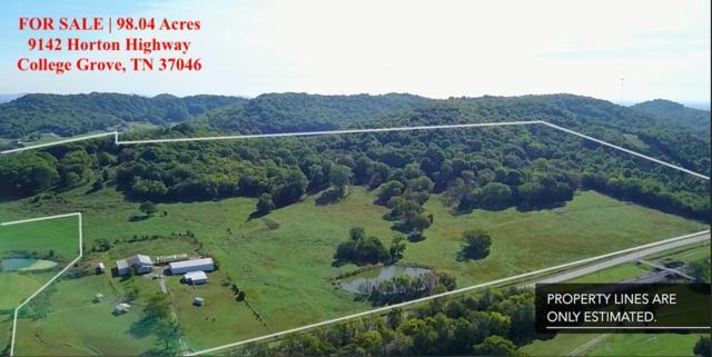 9142 Horton Highway, College Grove, TN 37046 (MLS #1982095) :: The Matt Ward Group