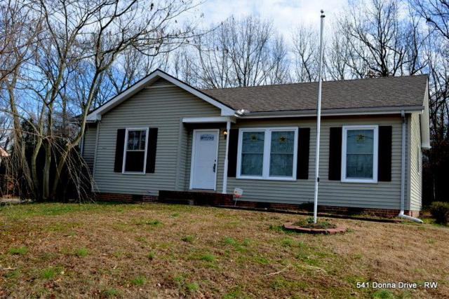 541 Donna Dr, Clarksville, TN 37042 (MLS #1993935) :: John Jones Real Estate LLC