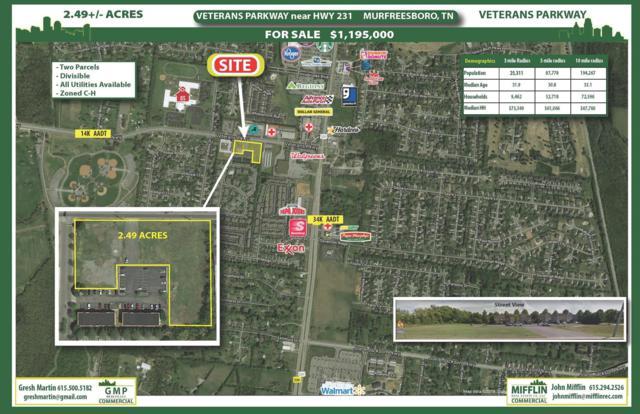 0 Veterans Pkwy, Murfreesboro, TN 37128 (MLS #RTC1994170) :: Team Wilson Real Estate Partners