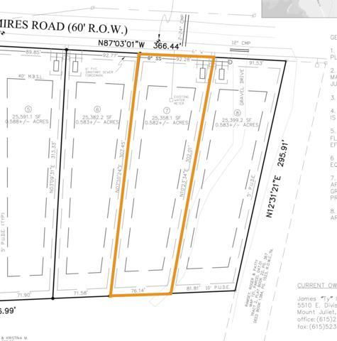 0 Mires Rd - Lot 7, Mount Juliet, TN 37122 (MLS #1995438) :: Team Wilson Real Estate Partners