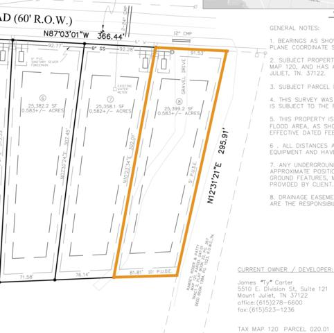 0 Mires Rd - Lot 8, Mount Juliet, TN 37122 (MLS #1995439) :: Team Wilson Real Estate Partners