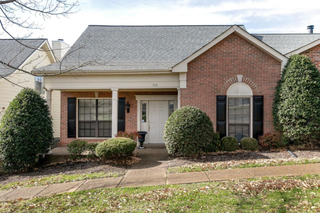1518 Brentwood Pointe, Franklin, TN 37067 (MLS #2009195) :: The Miles Team | Compass Tennesee, LLC