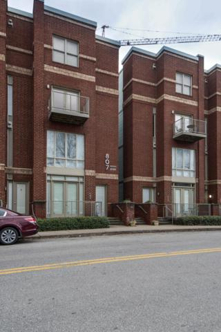807 18Th Ave S Apt 108, Nashville, TN 37203 (MLS #2010011) :: The Kelton Group