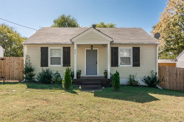 924 Chickasaw Ave, Nashville, TN 37207 (MLS #RTC2086653) :: Village Real Estate