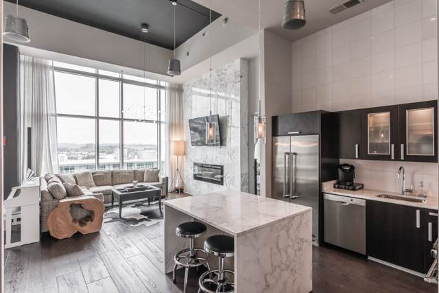 600 12th Ave S #2210, Nashville, TN 37203 (MLS #RTC2095475) :: RE/MAX Homes And Estates