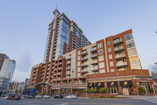 600 12th Ave South #1502 #1502, Nashville, TN 37203 (MLS #RTC2152450) :: CityLiving Group