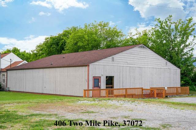 406 Two Mile Pike, Goodlettsville, TN 37072 (MLS #RTC2158428) :: Nashville on the Move