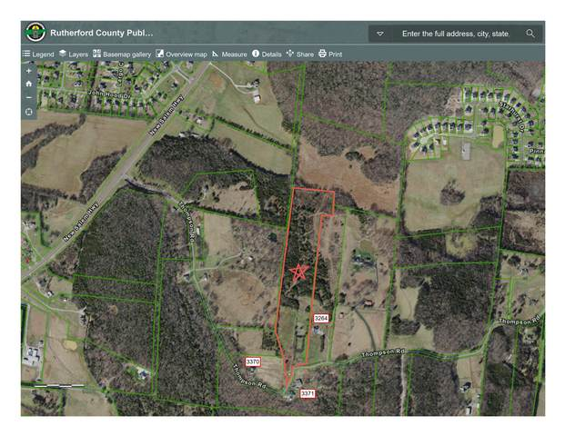 0 Thompson Rd, Murfreesboro, TN 37128 (MLS #RTC2159699) :: Nashville on the Move