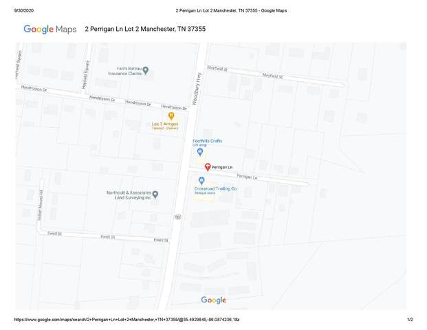 2 Perrigan Ln, Manchester, TN 37355 (MLS #RTC2187818) :: PARKS