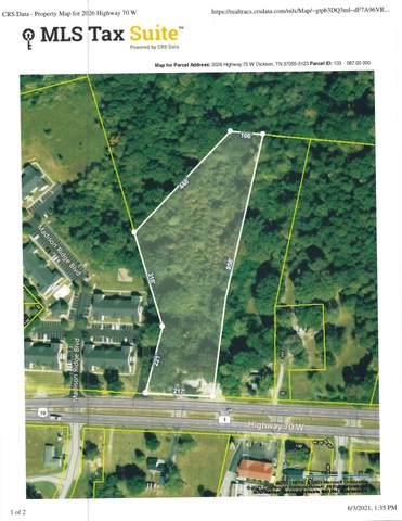 2026 Highway 70 West, Dickson, TN 37055 (MLS #RTC2259325) :: Village Real Estate