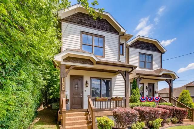 1100B W Grove Ave, Nashville, TN 37203 (MLS #RTC2262939) :: Candice M. Van Bibber | RE/MAX Fine Homes