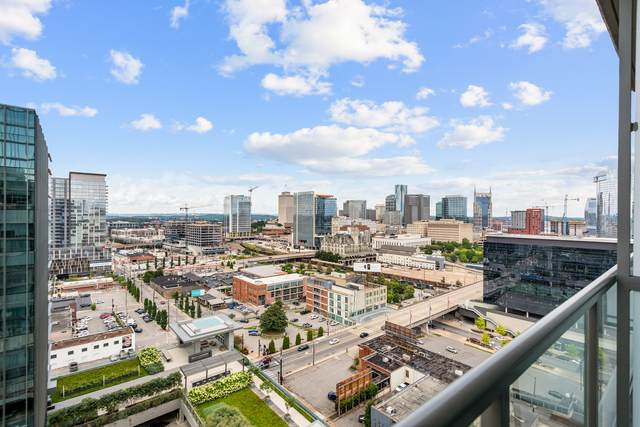1212 Laurel St #1506, Nashville, TN 37203 (MLS #RTC2269310) :: The Home Network by Ashley Griffith